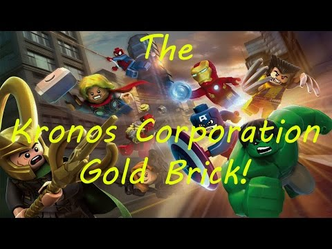marvel lego kronos gold brick